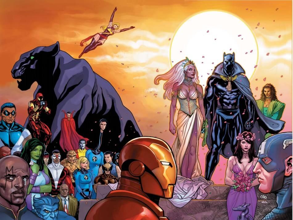 Matrimoni Marvel