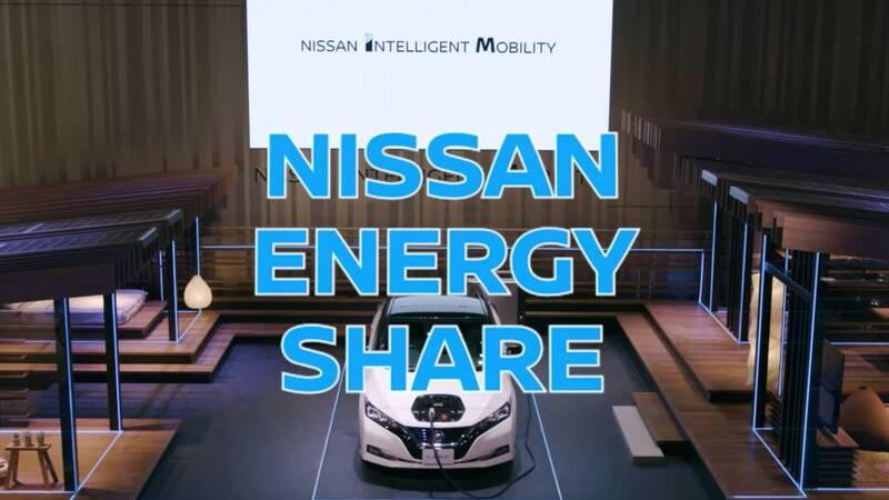 Nissan Leaf per alimentare i dispositivi di un appartamento smart. La batteria diventa elemento di stoccaggio