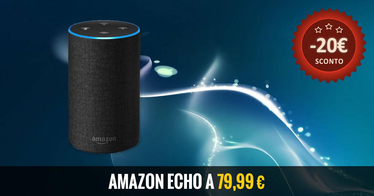 Offerta Amazon Echo 79 euro