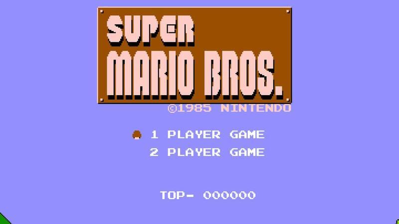 A copy of Super Mario Bros sold at mind-boggling figures!