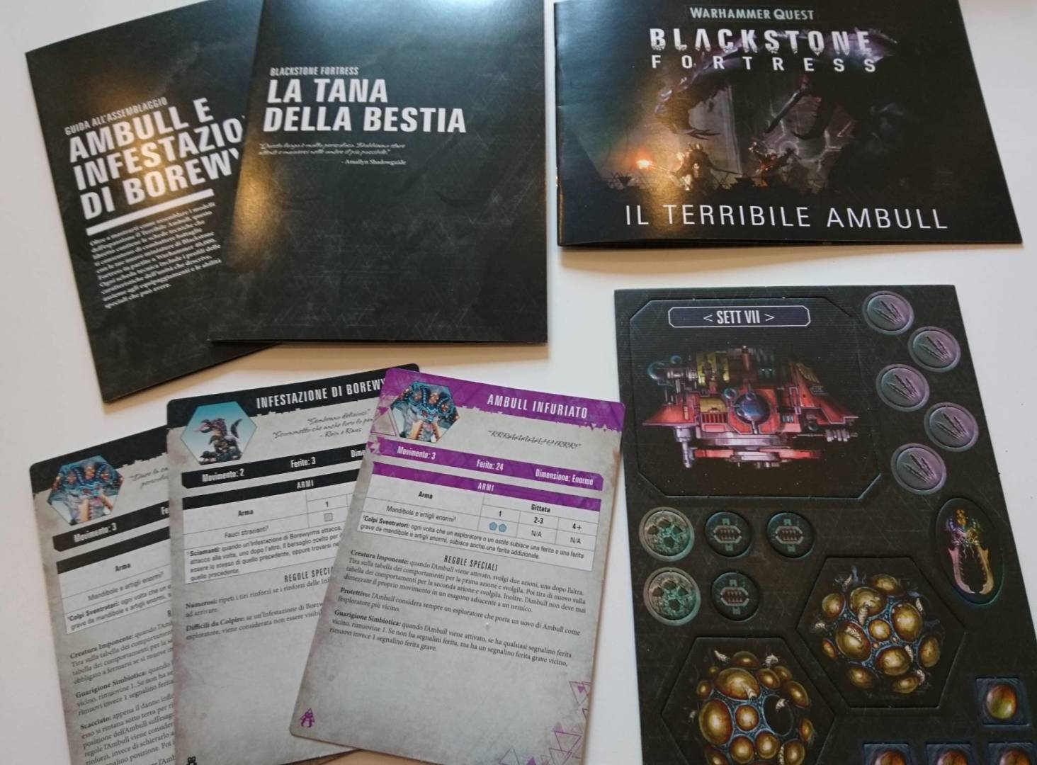 Warhammer Quest - Blackstone Fortress: Lo Spaventoso Ambull