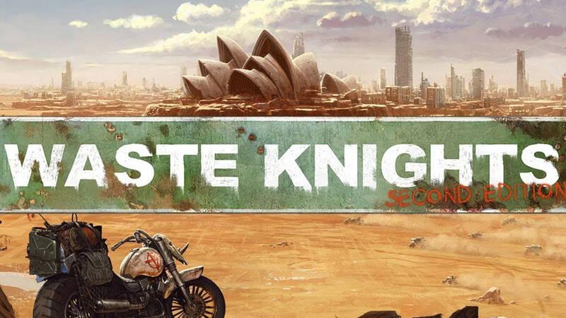 Waste Knights: Second Edition al via la campagna Kickstarter