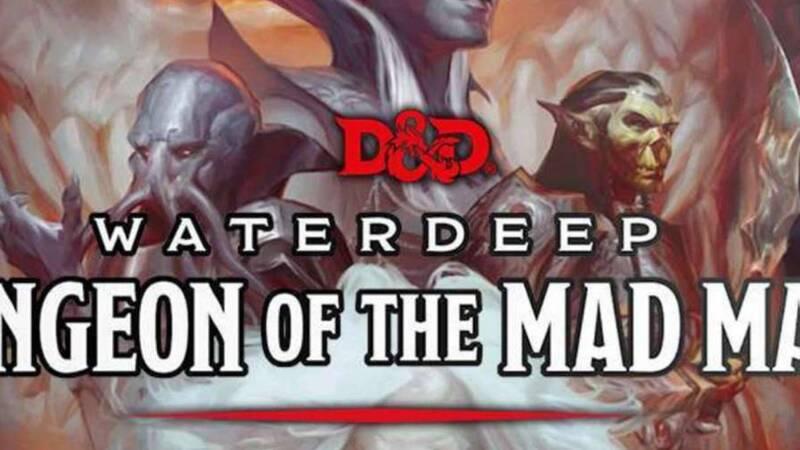 Il Dungeon del Mago Folle: il gioco da tavolo di D&D in italiano grazie ad Asmodee