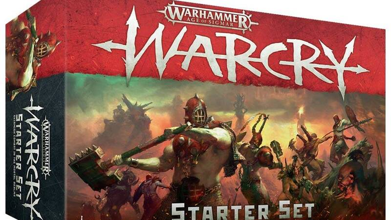 Arriva Warcry, nuovo gioco basato su Warhammer Age of Sigmar