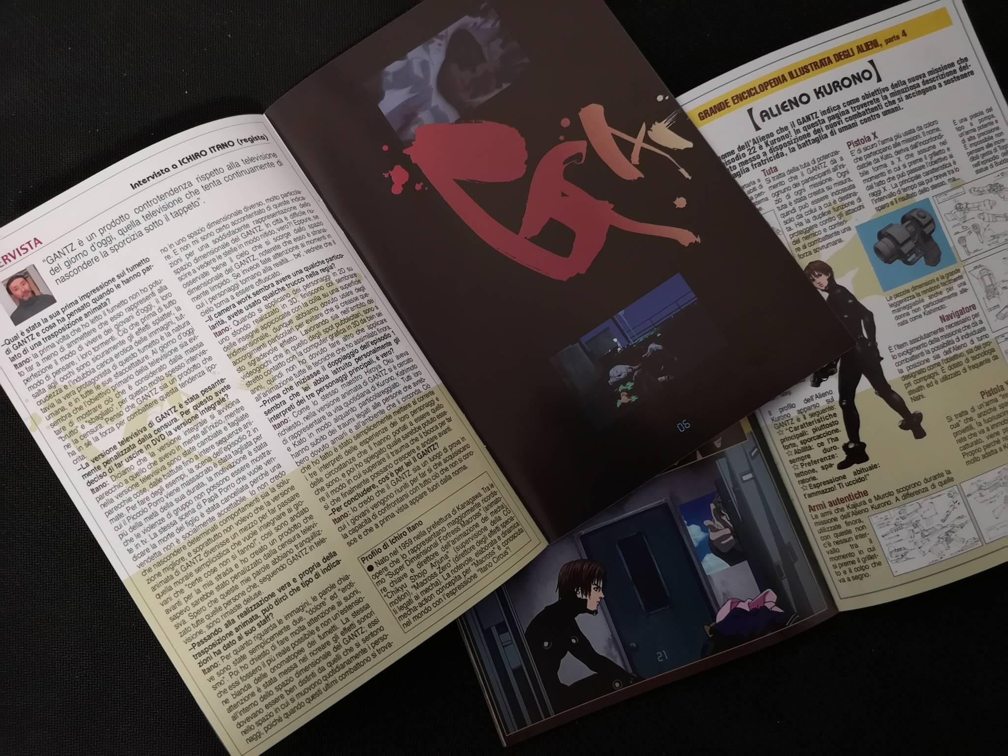 Gantz boxset dvd