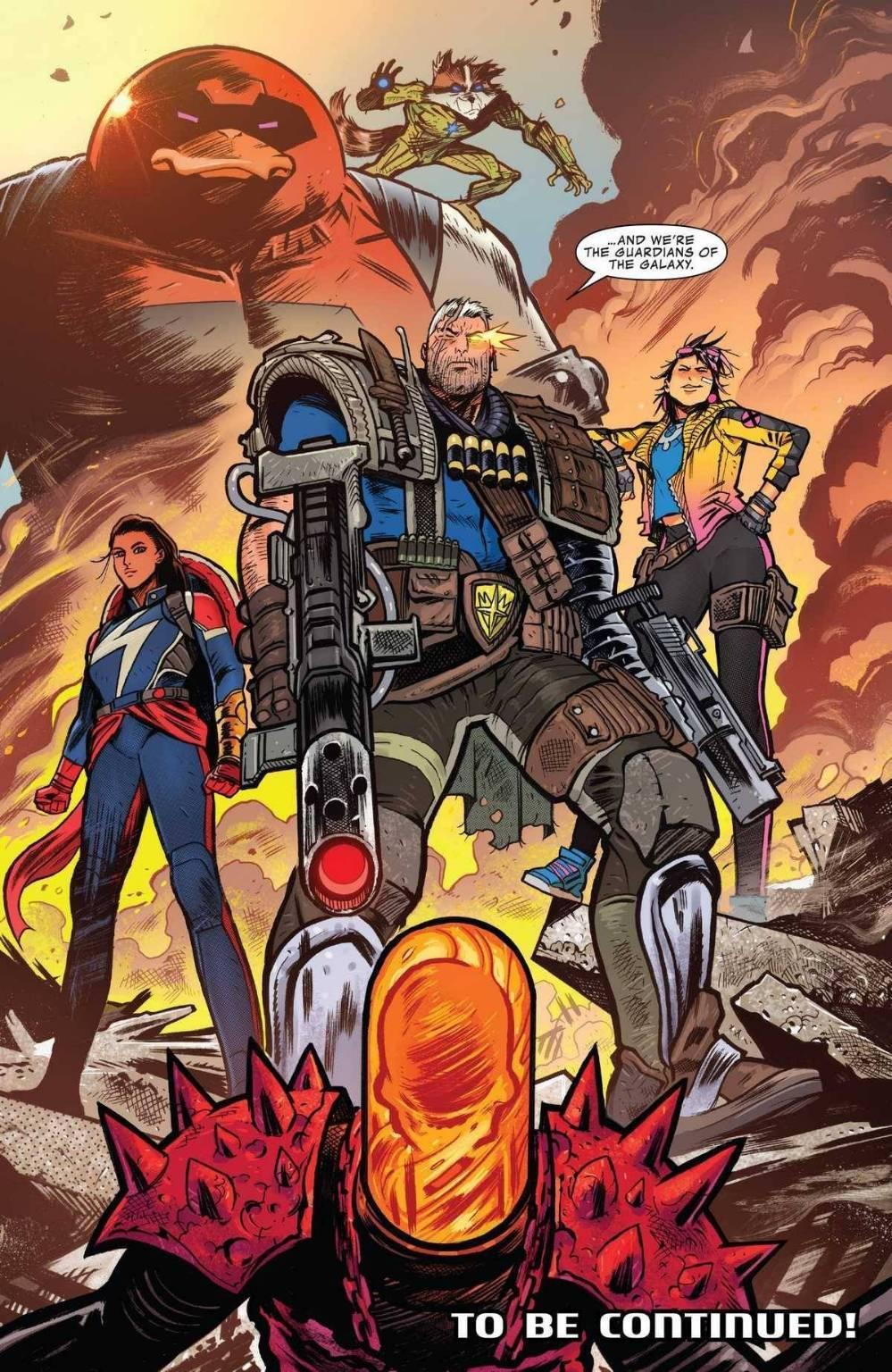 Ghost Rider Cosmico - Baby Thanos deve morire