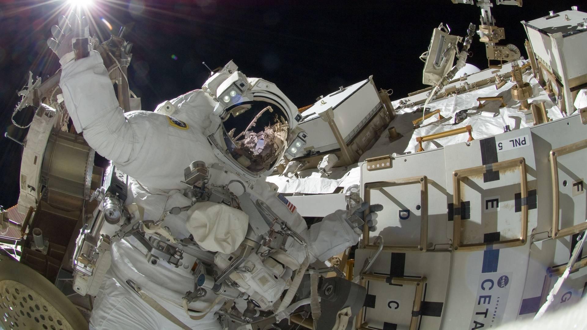 Passeggiata spaziale sulla ISS