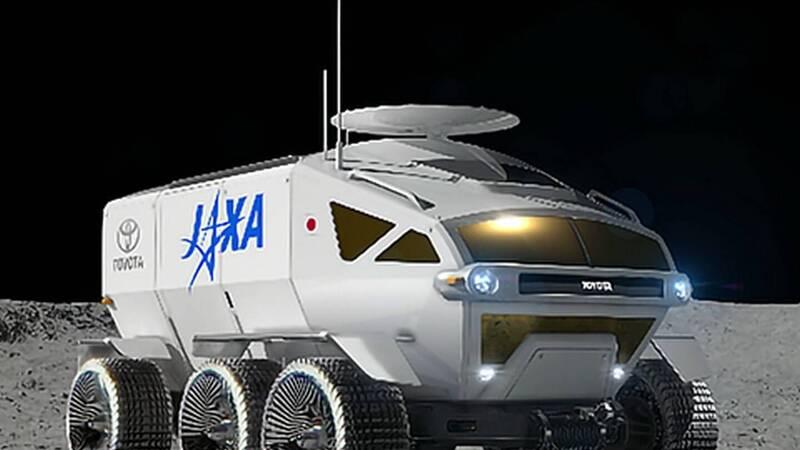 Toyota produrrà il rover giapponese per l'esplorazione della Luna