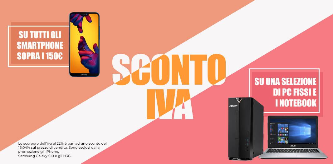 Unieuro Promo SCONTO IVA
