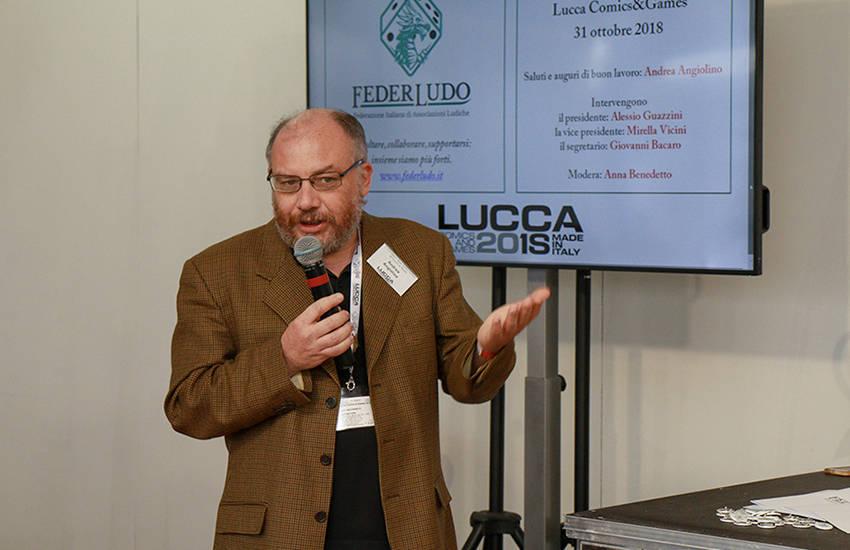 Andrea Angiolino @Lucca Games 2018