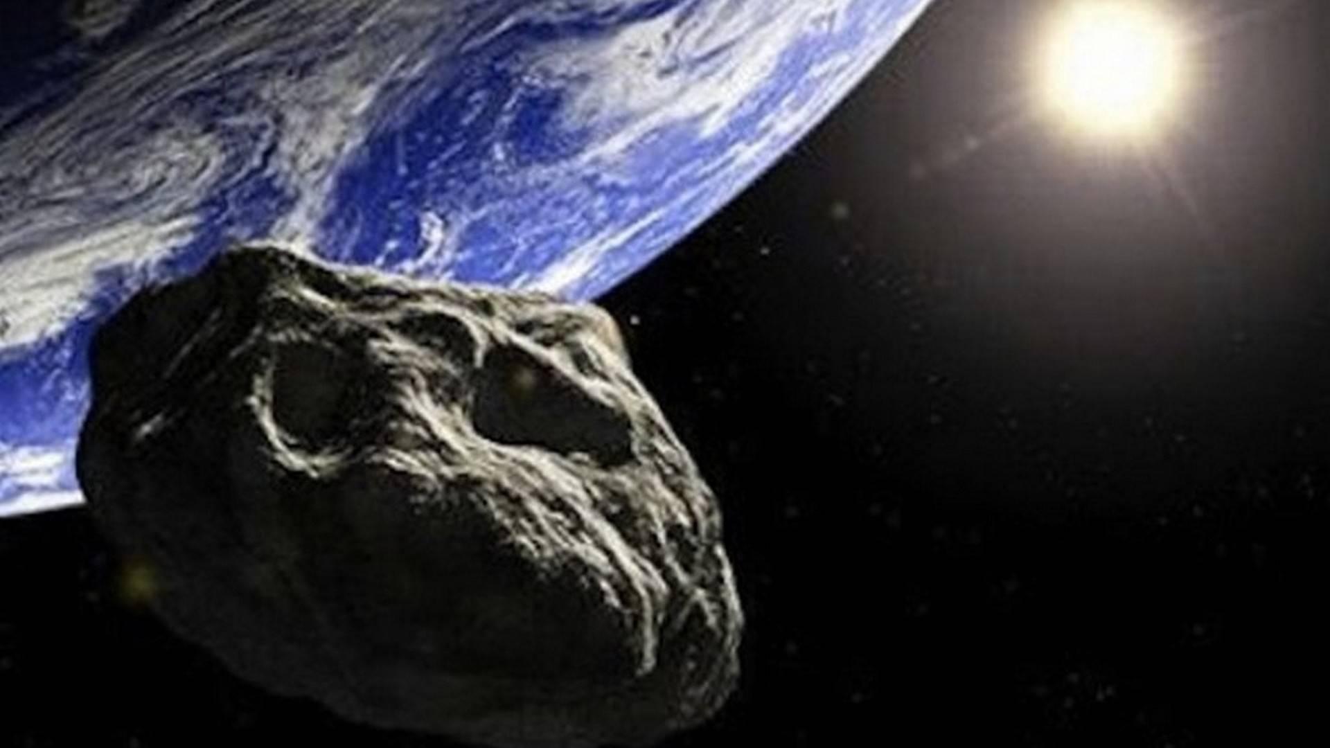 Asteroide che impatta con la Terra