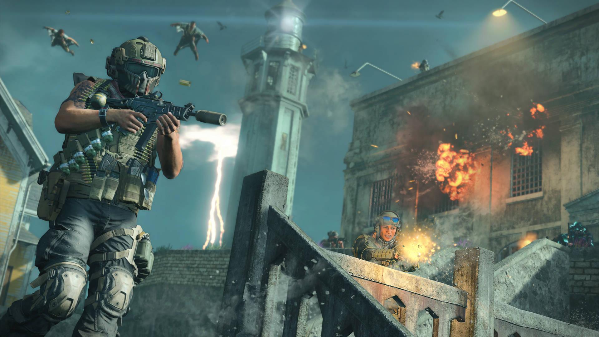 Call of Duty Black Ops 4 Blackout Alcatraz