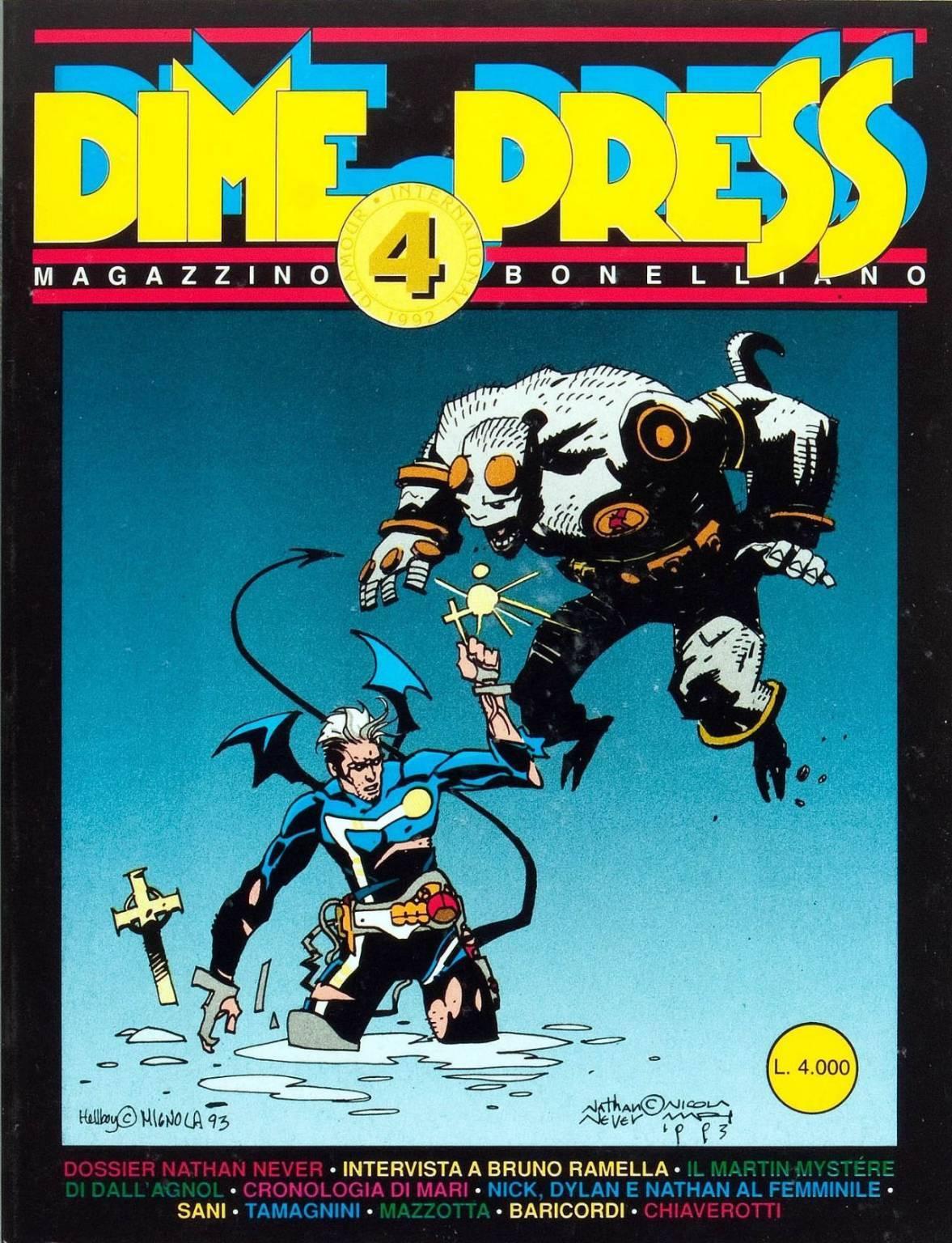 Hellboy Dima Press 4
