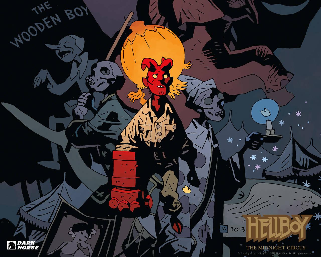 Hellboy bambino