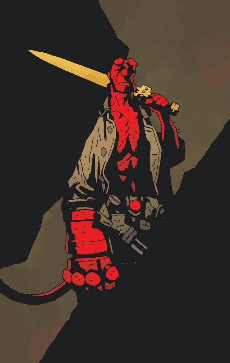 Hellboy Excalibur