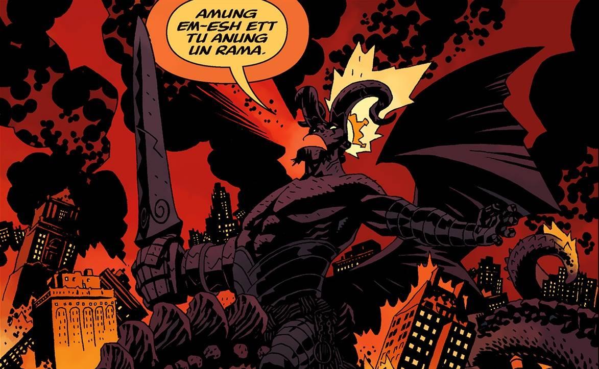 Hellboy Anung Un Rama
