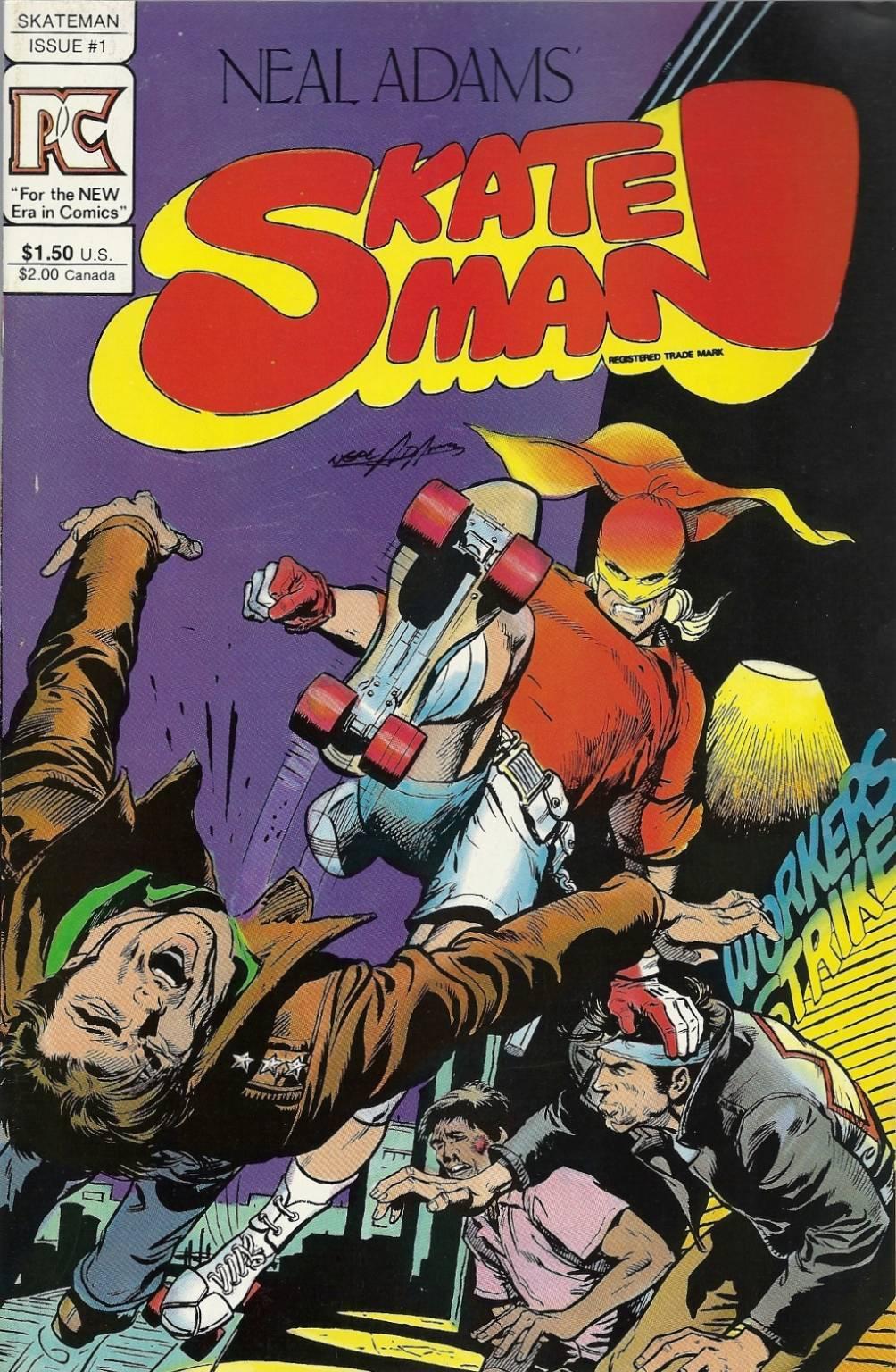 peggiori supereroi - Skateman