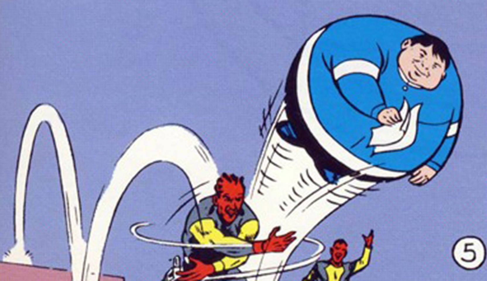 peggiori supereroi - Bouncing Boy