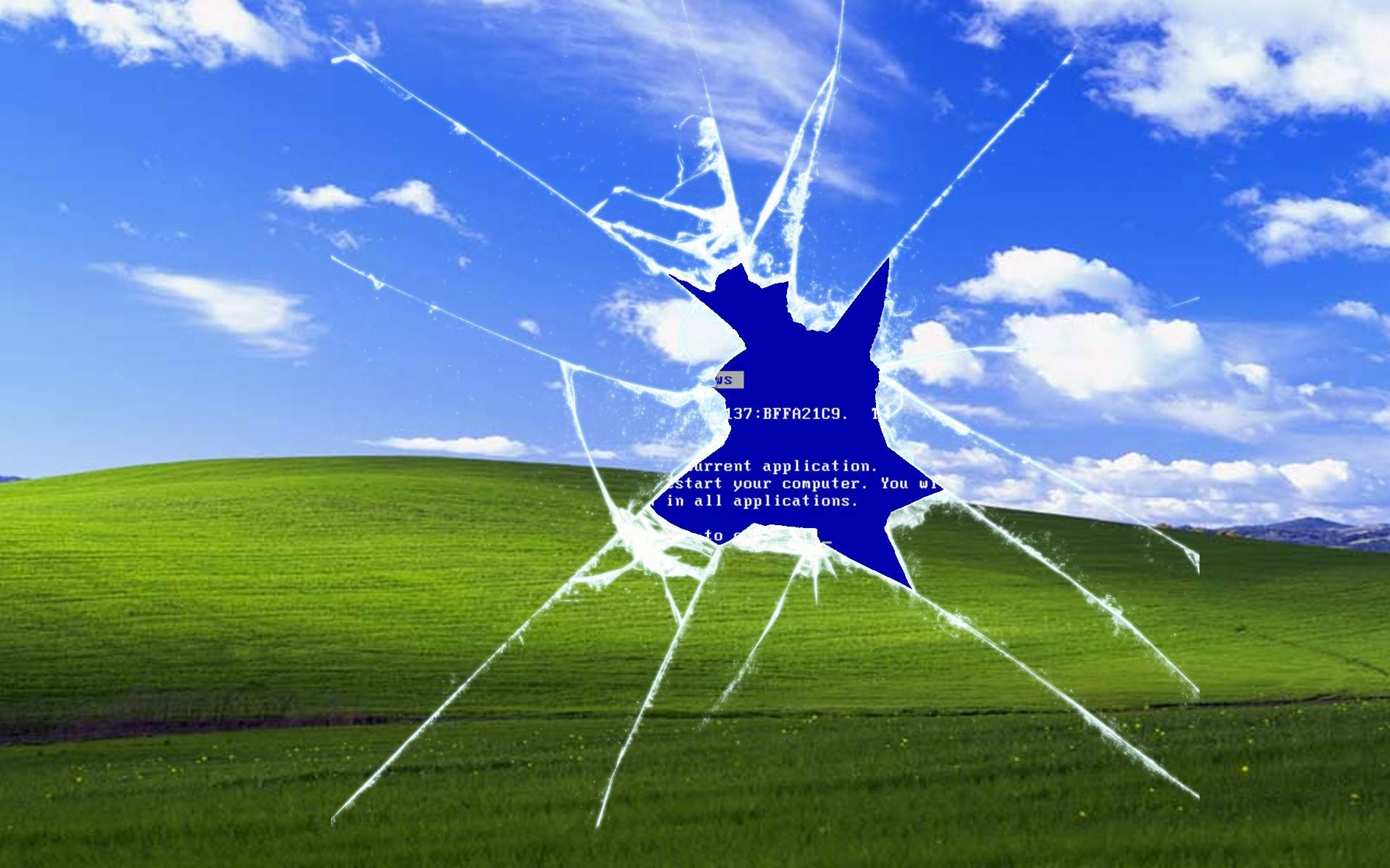 Windows XP errore