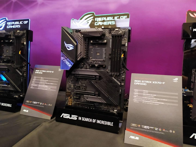 Asus X570 ROG Strix motherboard