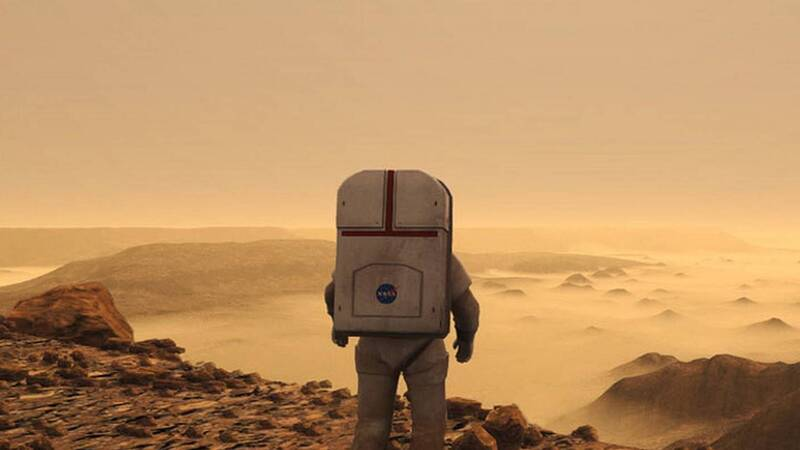 What if there were natural protections against cosmic rays on Mars?