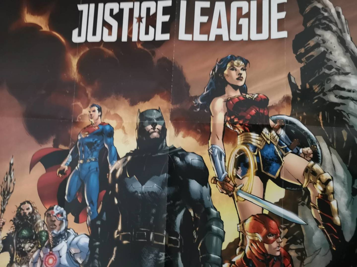 DC movie poster collection