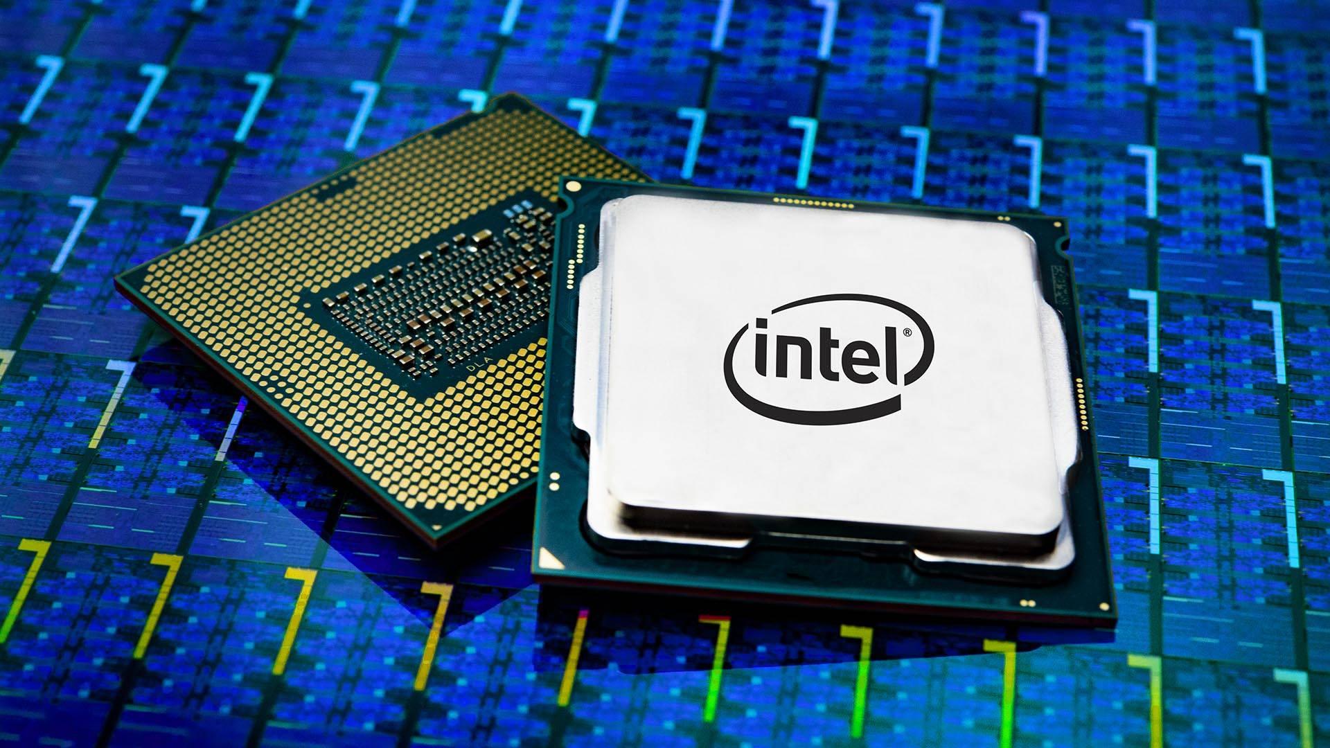 Intel CPU copertina
