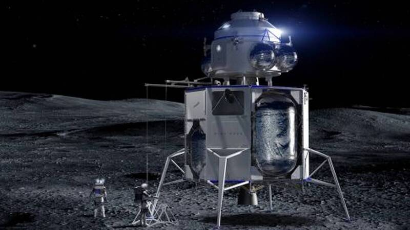 NASA invests $ 146 million in the development of manned lunar landers