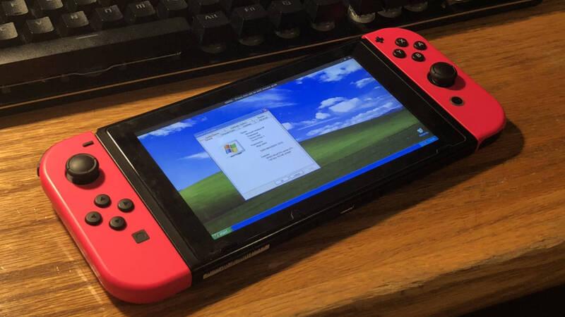 Nintendo Switch e Windows XP? Un'accoppiata perfetta