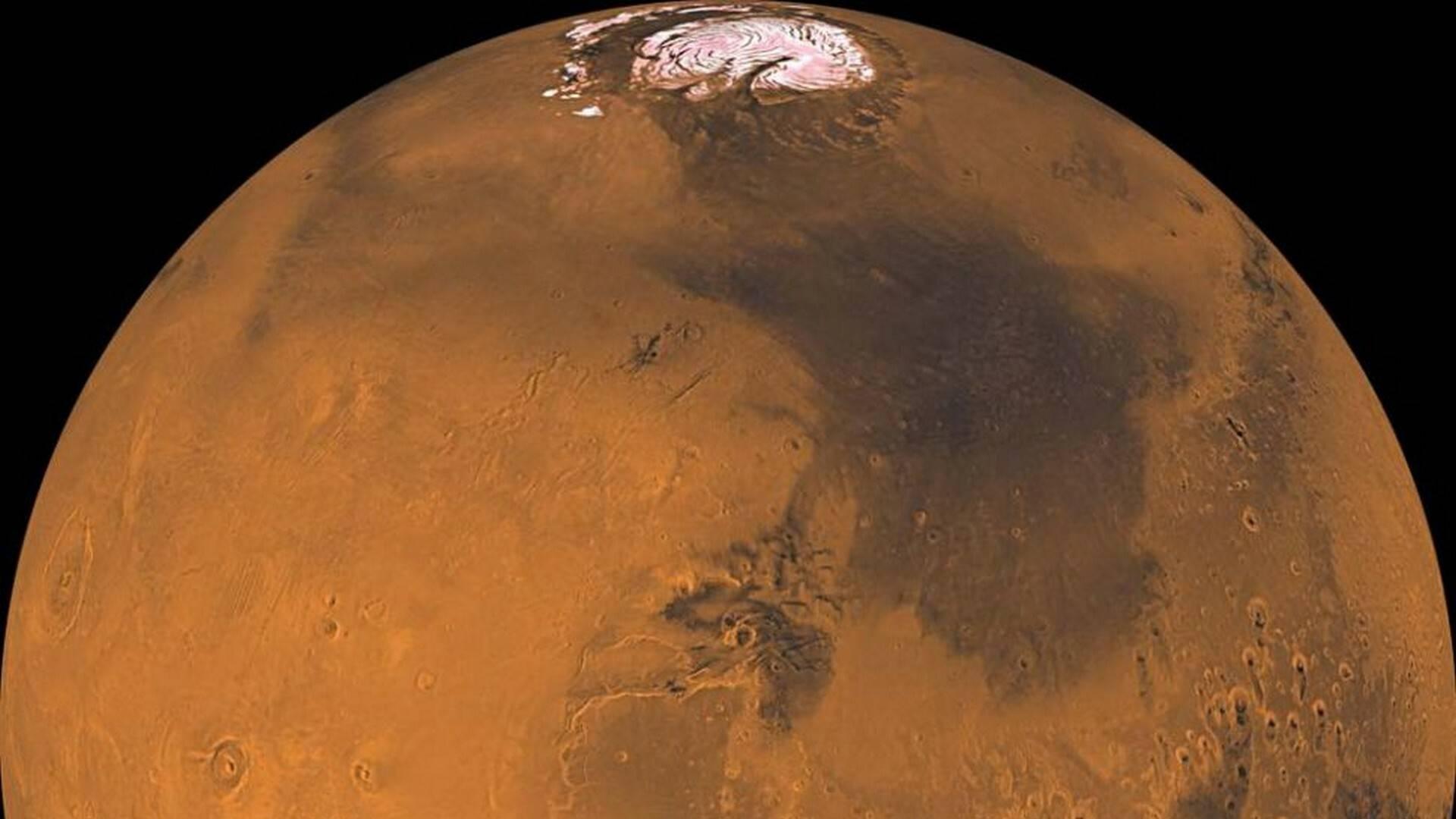 Ossigeno su Marte con la stessa reazione che avviene sulle comete