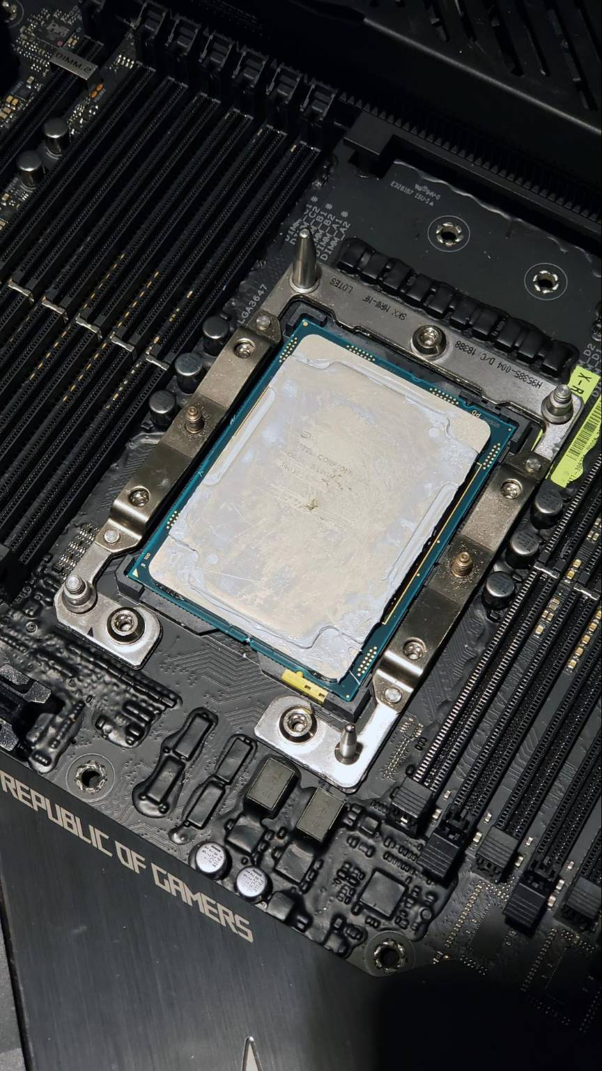 Xeon W-3175X overclock