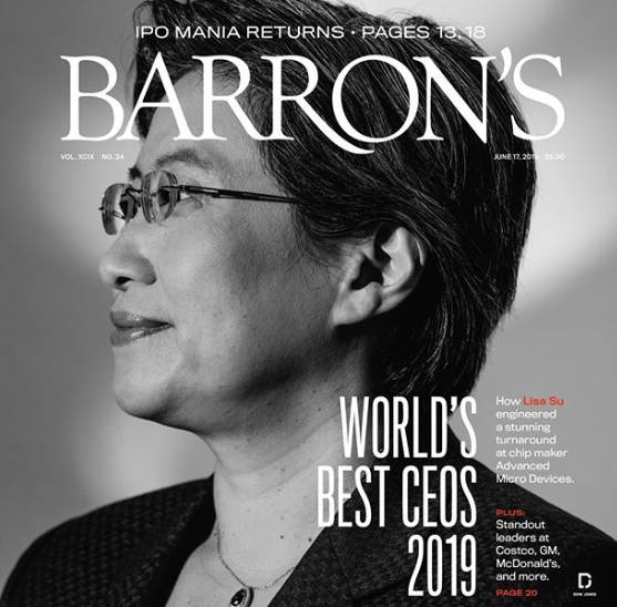 AMD Lisa Su Best CEO
