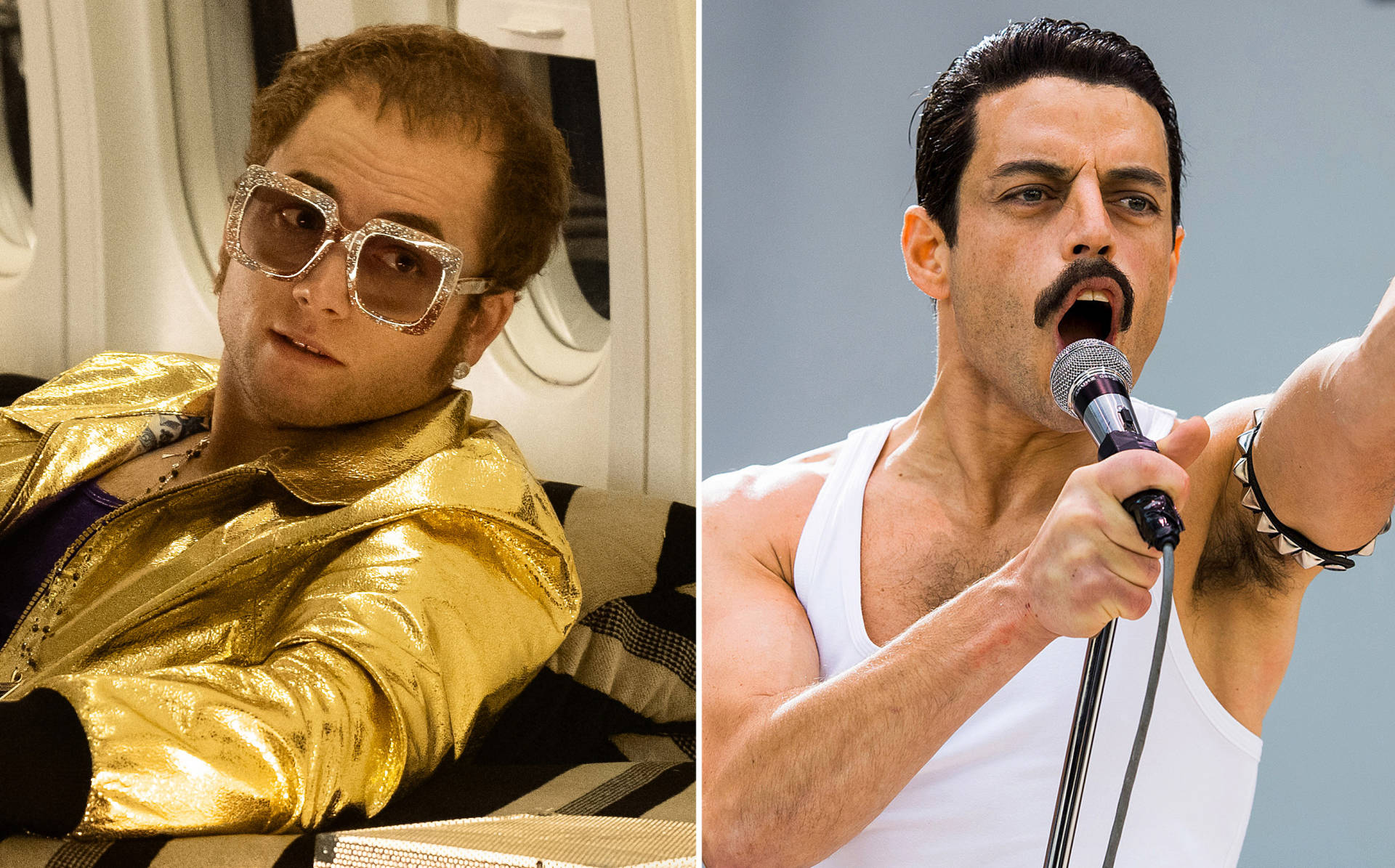 Bohemian Rhapsody e Rocketman crossover