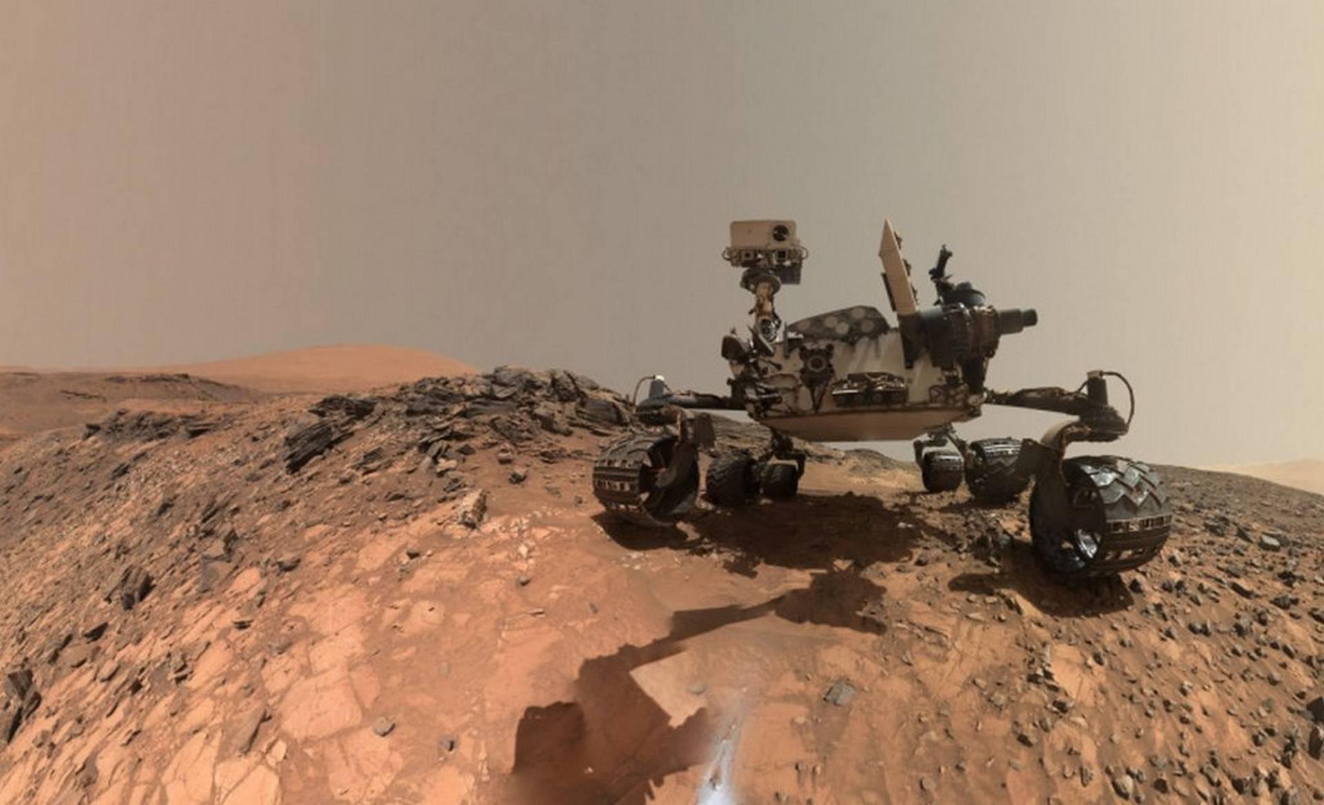 Curiosity trova argilla su Marte