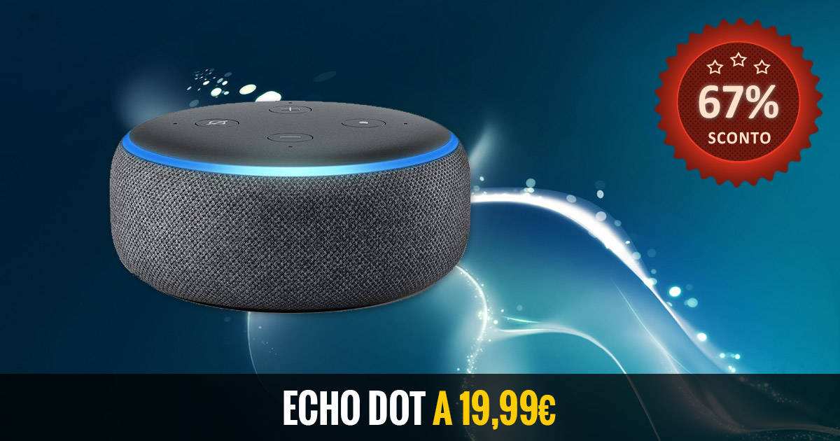 Echo Dot Offerta WOW
