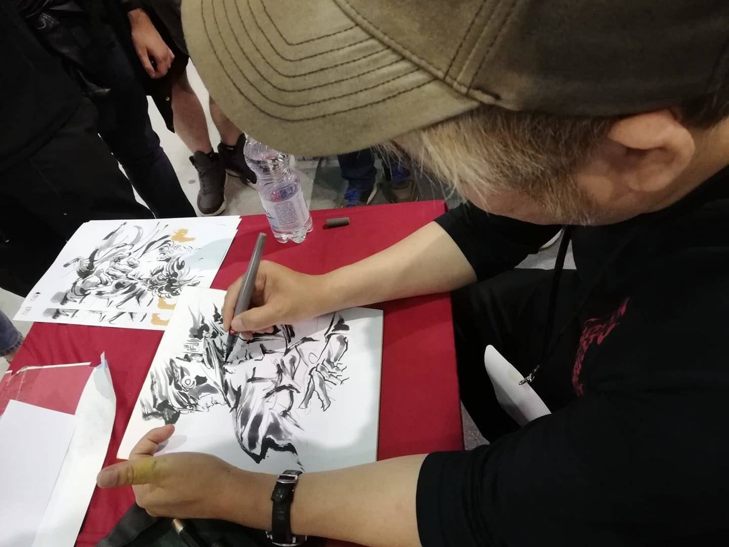 Junichi Hayama - Brush Work