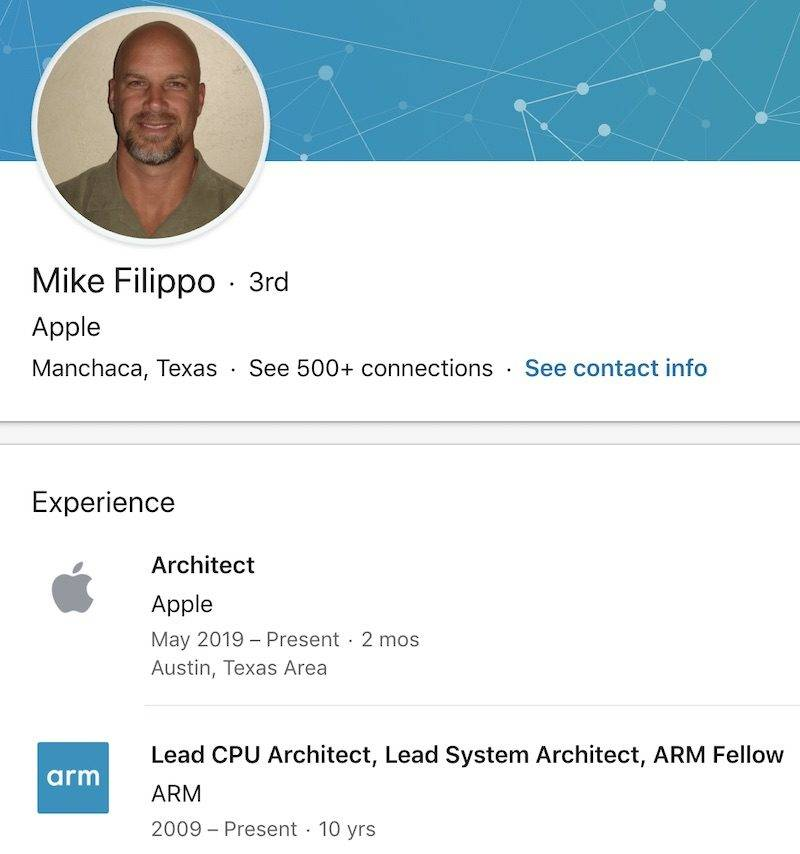 Mike Filippo Apple