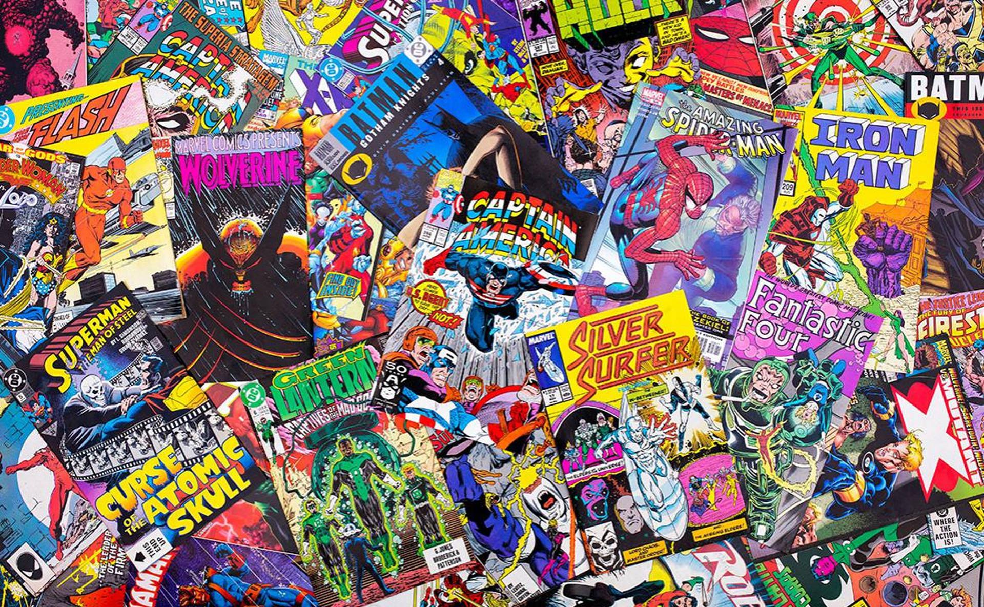 Pila di Fumetti