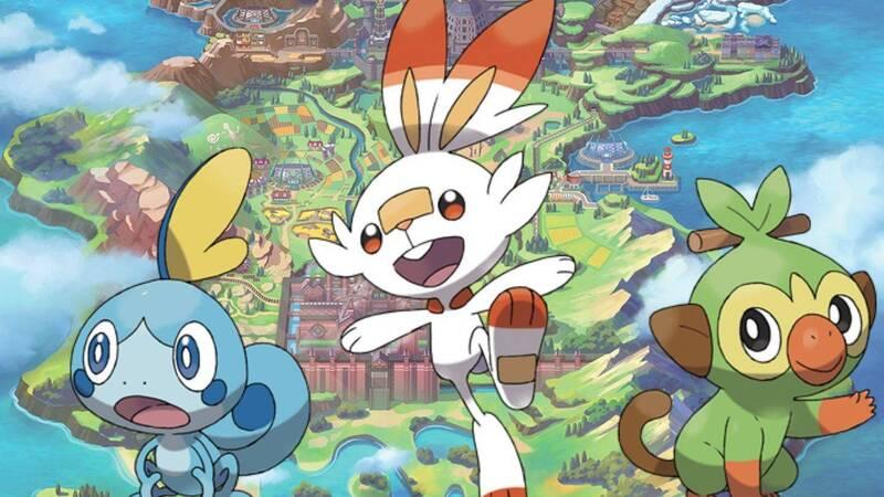 Pokémon Spada e Scudo, in un leak le presunte evoluzioni di Grookey e Sobble