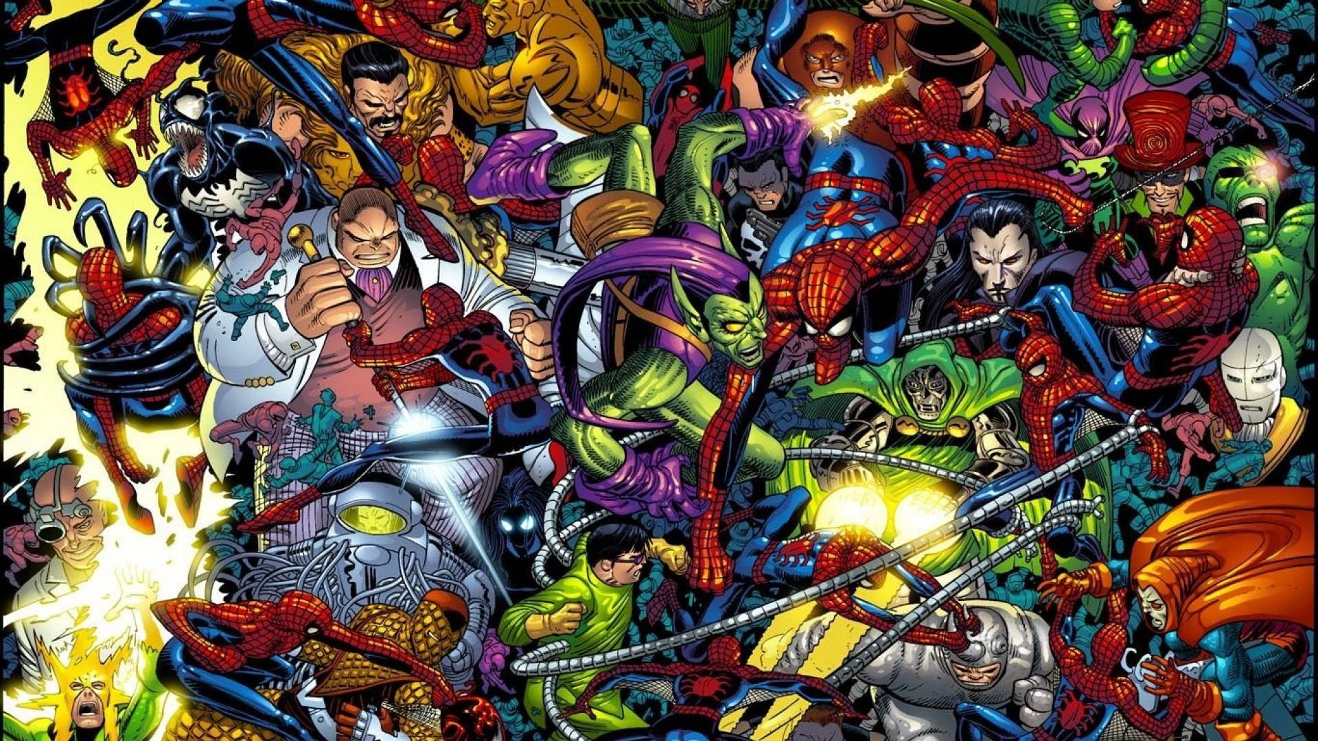spiderman villains