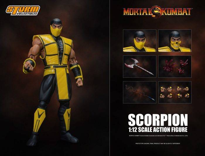 Storm Collectibles Scorpion