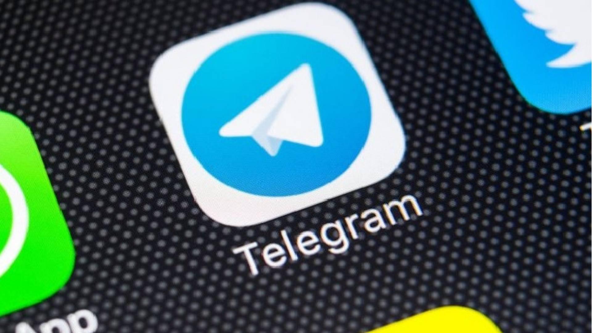 Telegram copertina