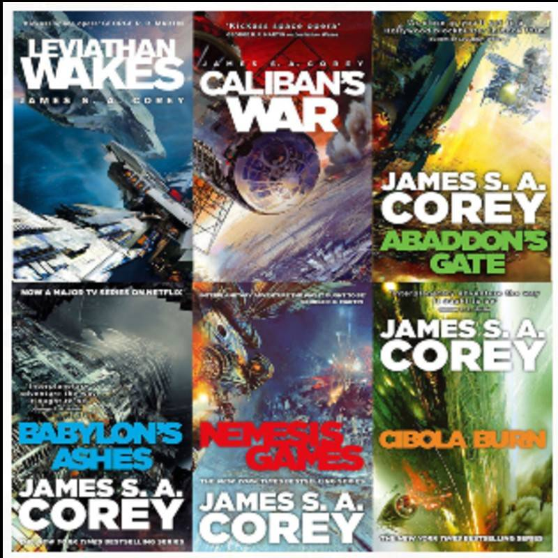 The Expanse James Corey Libri
