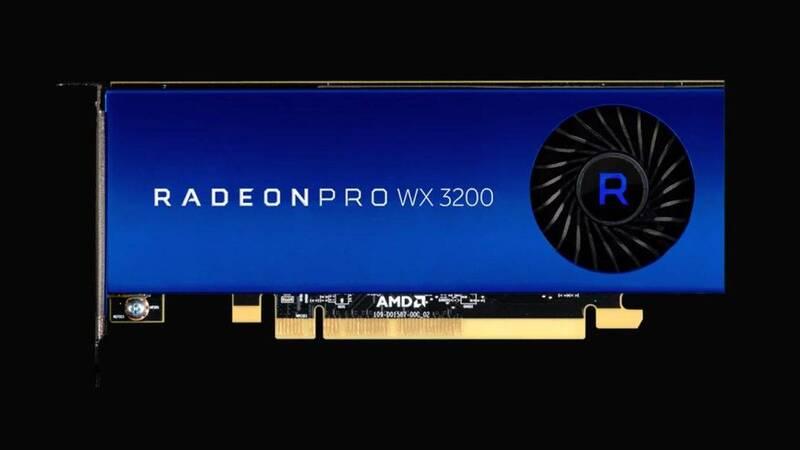 Radeon Pro WX 3200, una nuova scheda professionale a 199 dollari