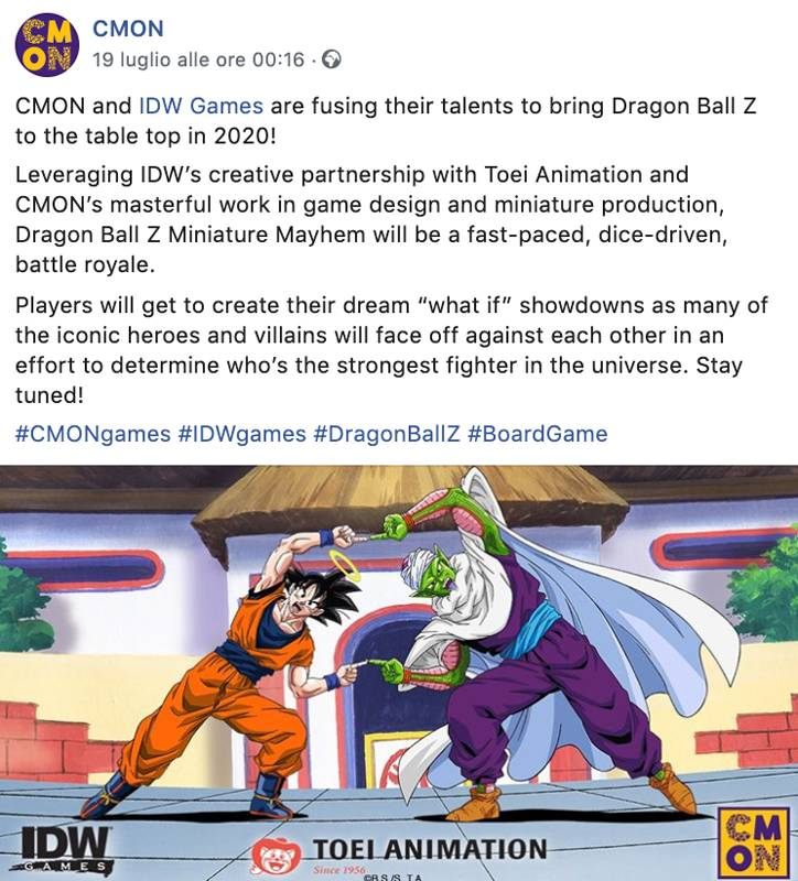 Dragon Ball Z Miniature Mayhem