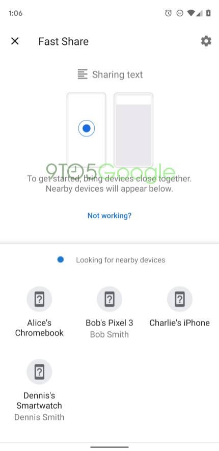 Fast Share Google