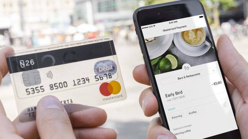 N26, what is the account created on a smartphone and how it works