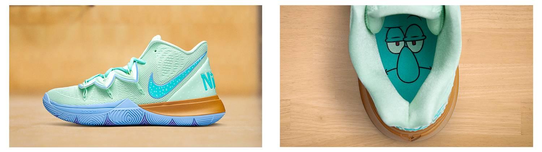 Nike x Spongebob