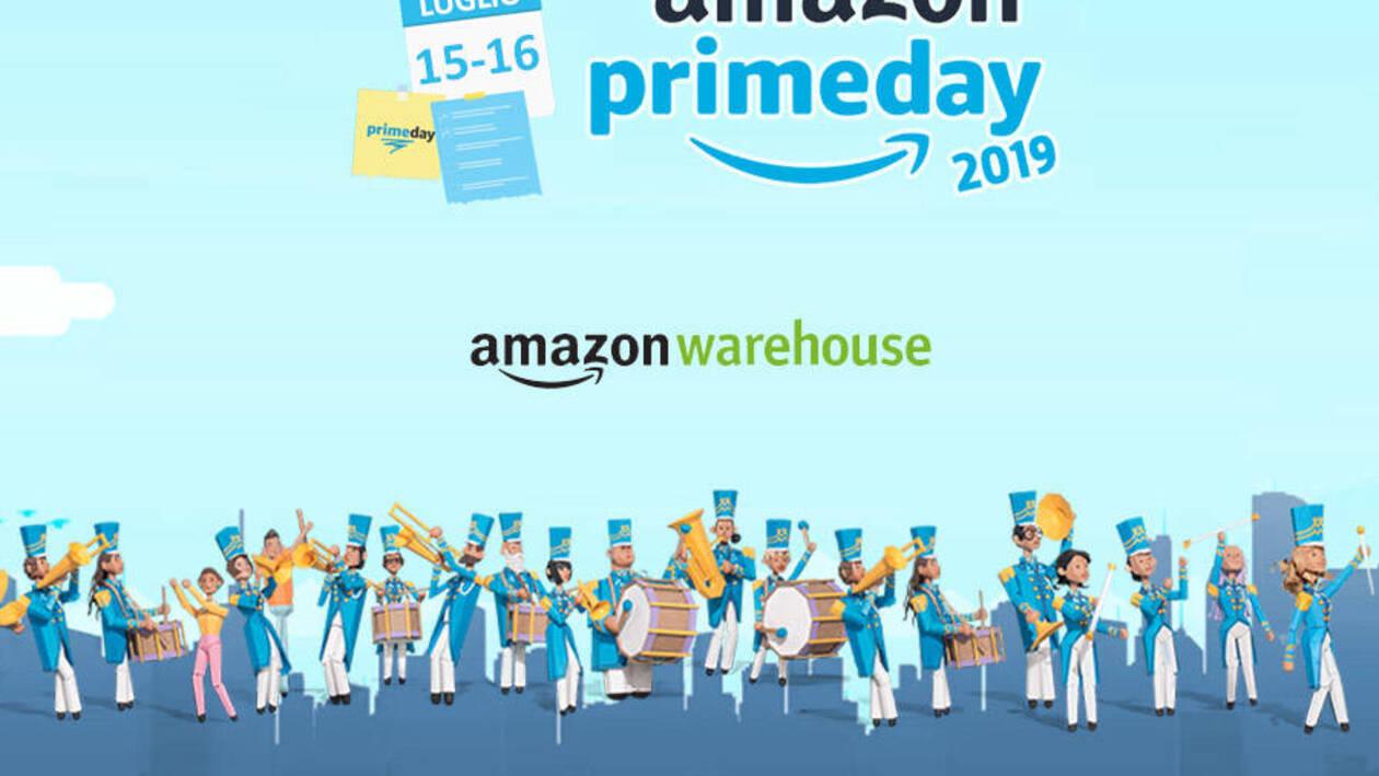Amazon Prime Day 2019 | 20% di sconto su Warehouse Deals