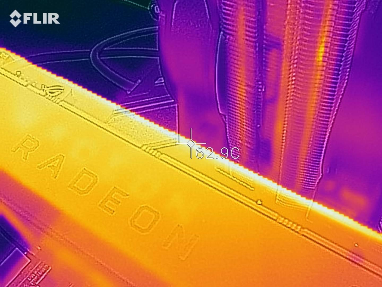 Radeon RX 5700 - Termocamera